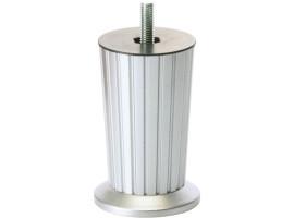 Saplamalı Konik  plastık Açizgili yak (M8) 5 cm - M.Krom - Saten
